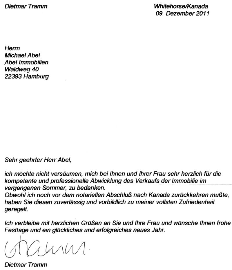 Tangstedt: Verkauf eines Einfamilienhauses - ABEL IMMOBILIEN e.K.