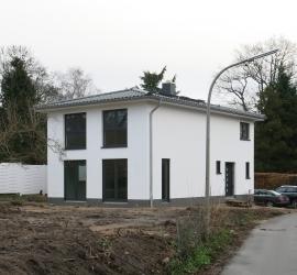 Neubau eines Stadthauses Nähe Saseler Markt
